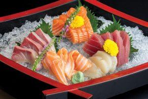 Fresh Sashimi Alt Text