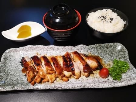 Chicken Teriyaki Set Lunch